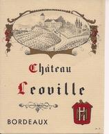BORDEAUX  CHATEAU LEOVILLE HM  (1) - Bordeaux