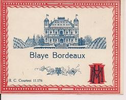 BLAYE  BORDEAUX  HM  (1) - Bordeaux