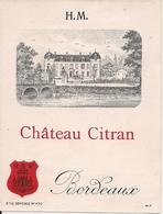 BORDEAUX CHATEAU CITRAN HM  (1) - Bordeaux