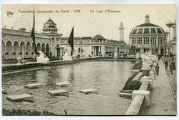 CPA - Carte Postale - Belgique - Exposition Universelle De Gand 1913 - La Cour D'Honneur (M7393) - Gent