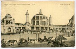 CPA - Carte Postale - Belgique - Exposition Universelle De Gand 1913 - L'Entrée Principale (M7394) - Gent