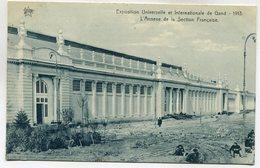 CPA - Carte Postale - Belgique - Exposition Universelle De Gand 1913 - L'Annexe De La Section Française (M7395) - Gent
