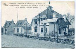CPA - Carte Postale - Belgique - Exposition Universelle De Gand 1913 - Le Village Moderne (M7396) - Gent