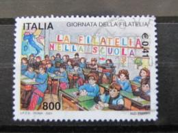 *ITALIA* USATI 2001 - GIORNATA FILATELIA - SASSONE 2565 - LUSSO/FIOR DI STAMPA - 6. 1946-.. Repubblica