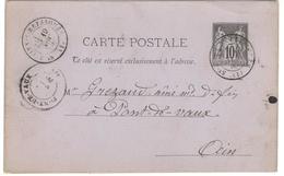 14196 - ST JULIEN- S-REYSSOUZ - Marcophilie (Lettres)