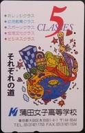Telefonkarte Japan - Werbung -  110-016 - Japan