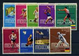PARAGUAY 1969 Nr 1883-1891 Postfrisch (105068) - Paraguay