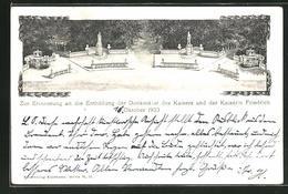 AK Berlin-Tiergarten, Enthüllung Der Denkmäler Des Kaisers Und Der Kaiserin Friedrich 1903 - Tiergarten