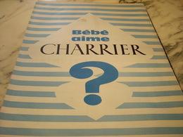 ANCIENNE PUBLICITE  BEBE AIME CHARRIER 1960 - Affiches