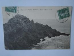 Environs De Brest. Morgat. Pointe De Dinan. GB Postmarked 1909 - Morgat