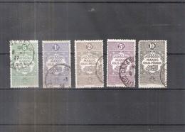 Maroc - 5 Timbres Colis Postaux - Obl/gest/used (à Voir) - Maroc (1956-...)