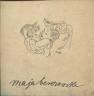 RARE DESSINS ET AQUARELLES PAR MAJA BEREZOWSKA EDITIONS POLONIA VARSOVIE 1958 EROTISME BEAUTE ET TENSION SENSUELLE - Art
