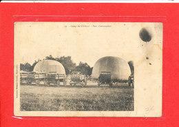 PARC D ' AEROSTATION Cpa Camp De Chalons     19 Guerrin - Avions
