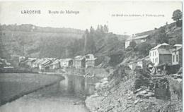 La Roche - Route De Maboge - Gd Hôtel Des Ardennes, J. Tacheny, Prop. - La-Roche-en-Ardenne