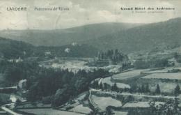 La Roche - Panorama De Hives - Grand Hôtel Des Ardennes - J. Tacheny, Propriètaire - 1924 - La-Roche-en-Ardenne