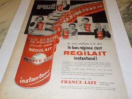 ANCIENNE   PUBLICITE LE BON REGIME  REGILAIT  1960 - Affiches
