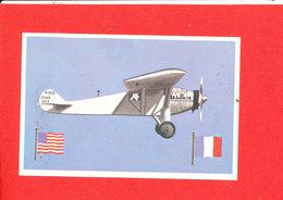 Le Psirit Of Sy Louis  Carte 1927 Serie 121 Foprmat 13 Cm X 8.5 Cm - Aviateurs
