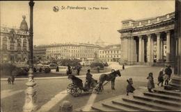 Cp Sankt Petersburg Russland, La Place Kazan, Carrefour - Russland