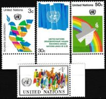 UNO NEW YORK 1976 Mi-Nr. 289/92 ** MNH - New York -  VN Hauptquartier