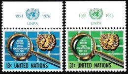 UNO NEW YORK 1976 Mi-Nr. 299/00 ** MNH - New York -  VN Hauptquartier