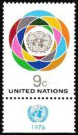 UNO NEW YORK 1976 Mi-Nr. 302 ** MNH - New York -  VN Hauptquartier