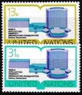 UNO NEW YORK 1977 Mi-Nr. 303/04 ** MNH - New York -  VN Hauptquartier