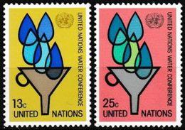 UNO NEW YORK 1977 Mi-Nr. 305/06 ** MNH - New York -  VN Hauptquartier