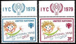 UNO NEW YORK 1979 Mi-Nr. 334/35 ** MNH - New York -  VN Hauptquartier