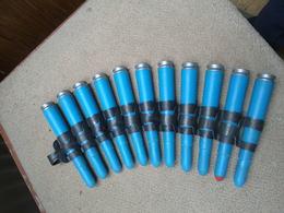 Lot Training12.7mm OBUS Projektil GRENADE  Neutralisé - Armes Neutralisées