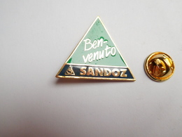 Beau Pin's , Laboratoires Sandoz Ben Venuto  , Agriculture , Nature , Signé WST Basel - Pin's