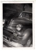AUTO CAR VOITURE FIAT NON IDENTIFICATA TARGA TORINO -  FOTO ORIGINALE ANNI '50 - Automobili