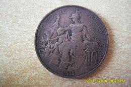 """10 Centimes """"Dupuis"""" De 1915 En TTB+ - France"""