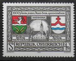 AUTRICHE      N° 1653 * *      Armoiries Garsten - Vacances & Tourisme