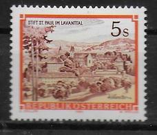 AUTRICHE      N° 1656 * *    Abbayes Saint Paul Lavanttal - Abbayes & Monastères