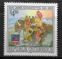 AUTRICHE     N° 1654 * *    Bataille Guerre Tableau August Stephan Koenigstetten - Arts