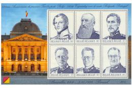 Belgium BL 080   Les Six Rois Belges   MNH - 2001-10