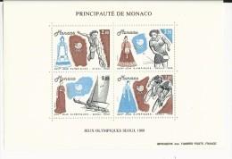 MONACO - BLOC N° 42 ** - COTE YVERT = 12.5 EUROS - - Blocs