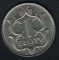 Polen, 1 Zloty 1929, Qualität - Pologne