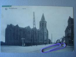 MIDDELKERKE : L'église En 1913 - Middelkerke