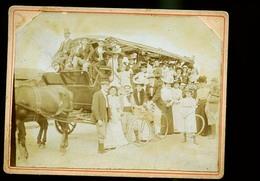 ATTELAGE DE TOURISTES DE 1895      CP PHOTO                  JLM - Métiers