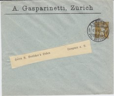 Schweiz Helvetia Privatganzsache PU 2 Rp Gasparinetti Zürich 1910 - Entiers Postaux