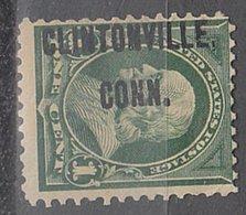 USA Precancel Vorausentwertung Preo, Locals Connecticut, Cintonville L-1 TS, Perf. 12x12 - Vereinigte Staaten