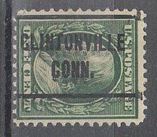 USA Precancel Vorausentwertung Preo, Locals Connecticut, Cintonville L-2 TS, Perf. 12x12 - Vereinigte Staaten