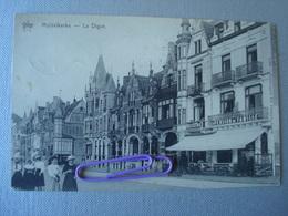 MIDDELKERKE : La Digue  Et La Pension Camilleen 1911 - Middelkerke