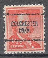USA Precancel Vorausentwertung Preo, Locals Connecticut, Colchester 704 - Vereinigte Staaten