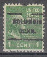 USA Precancel Vorausentwertung Preo, Locals Connecticut, Columbia 717 - Vereinigte Staaten