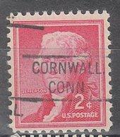 USA Precancel Vorausentwertung Preo, Locals Connecticut, Cornwall 804 - Vereinigte Staaten