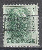 USA Precancel Vorausentwertung Preo, Locals Connecticut, Coventry 828 - Vereinigte Staaten