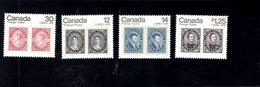 719998093 CANADA 1978 SCOTT 753 754 755 756 CAPEX 78 SET TAGGED - 1952-.... Règne D'Elizabeth II