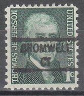 USA Precancel Vorausentwertung Preo, Locals Connecticut, Cromwell 841 - Vereinigte Staaten